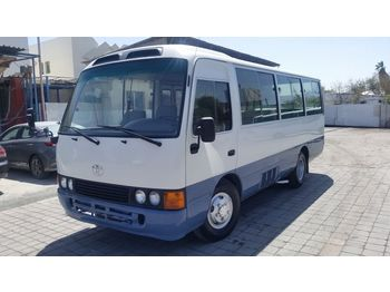 TOYOTA Coaster ....Japan made - not china ..... BELGIUM - minibuss
