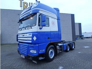 DAF XF105.460 + KIPPER HYDROLIC + EURO 5 + SUPER SPACE CAP - dragbil