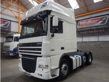 Dragbil DAF XF105 460 SUPERSPACE EURO 5, 6 X 2 TRACTOR UNIT - 2012 - WK62 BW
