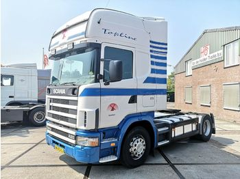 Scania R124 4x2 420 | Retarder | Manual | Topline  - dragbil