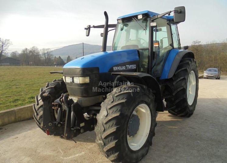 New Holland TM 150 RC jordbrukstraktor till salu från
