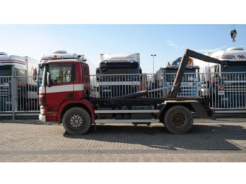 Scania 94 D 220 HOOKARM CONTAINER TRANSPORT MANUAL GEARBOX 416000KM - containerbil/ växelflak lastbil