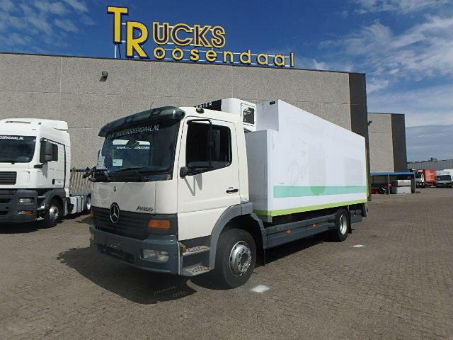 mercedes benz atego 1223 carrier freezing 24 c euro 2 manual rh truck1 se com  Lastbil Toms