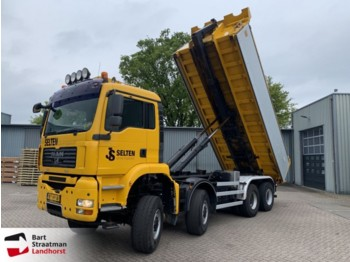 MAN 41.440 8x8 BB Manual Hooklift - lastväxlare lastbil