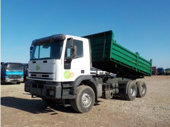 Iveco Eurotrakker 380 E 42 (MANUAL PUMP / BIG AXLE / STEEL SUSP) - tippbil lastbil