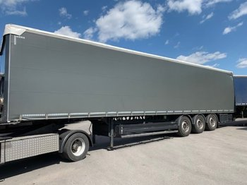 Kapell semitrailer Berger SAPL 24 Light, 4890kg !!!