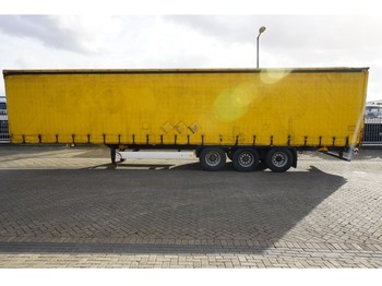 Krone 3 AXLE CURTAINSIDE TRAILER - kapell semitrailer