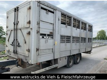 Michieletto Tandem Doppelstock  - djurtransport trailer